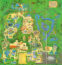 NewsPlusNotes From The Vault Busch Gardens Tampa 1995 Map