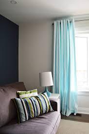 aqua blue ikea merete curtain hack the vanderveen house