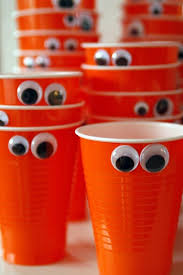 Monster Paper Cup Halloween Craft Ideas For Kids
