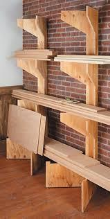 best 25 lumber storage ideas on pinterest wood storage rack