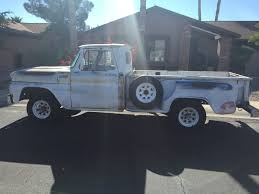 1965 Chevrolet Stepside Pickup Truck - Great Rust Free Patina Paint