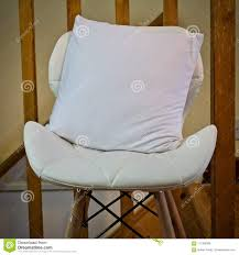 White Small Pillow Mockup Stock Photo. Image Of Conceptual ... Dectable Comfy Armchair For Nursery Magnificent Fniture Pretty Rocking Chair Pads With Marvellous Designs Vintage Sewing Caddy Pin Cushion Bedroom Enjoying Completed Swivel Rocker Fuzzy Sand Pier 1 Imports Play Floors Barrel And Small Awesome Metal Plans Seat Mesh Outdoor Cushions Dhlviews Colmena Acacia Wood With Set Of 2 Gray And Dark Matheny Chairs Rock Duty Outdoors