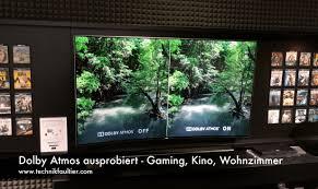 dolby atmos ausprobiert gaming kino wohnzimmer