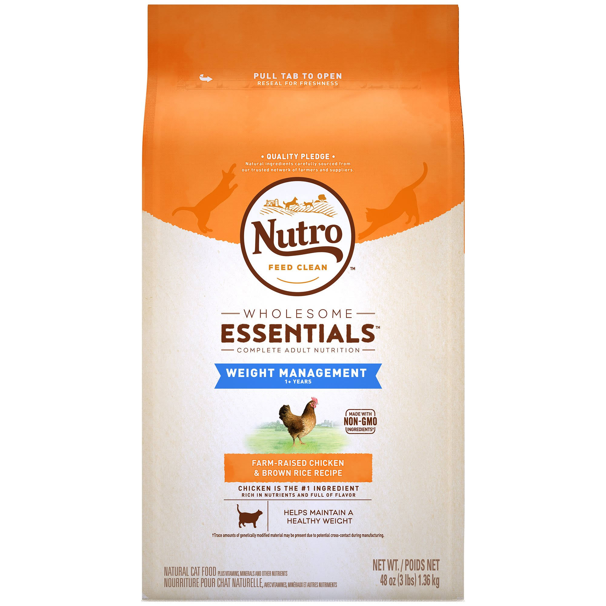 Nutro Natural Choice Cat Food - Chicken And Whole Brown Rice