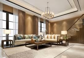 vintage luxus klassisches warmes holz wohnzimmer in der nähe