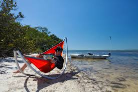 The Boonedox Drifter Kayak size this portable hammock stand is