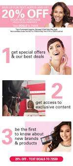 Sally Beauty Supply: 20% Off When You Sign Up For Text ... Sally Beauty Supply Hot 5 Off A 25 Instore Purchase 80 Promo Coupon Codes Discount January 2019 Coupons Shopping Deals Code All Beauty Bass Outlets Shoes Free Eyeshadow From With Any 10 Inc Best Buy Pre Paid Phones When It Comes To Roots Know Your Options Deal Alert Freebie Contea Amazon Advent Calendar Day 9 Hansen Gel Rehab Online Stacking For 20 App