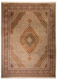 täbriz 70 raj mahi teppich 400 x 300 cm beige morgenland teppiche