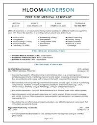 Sample Medical Assistant Resume Certified With Externship Experience