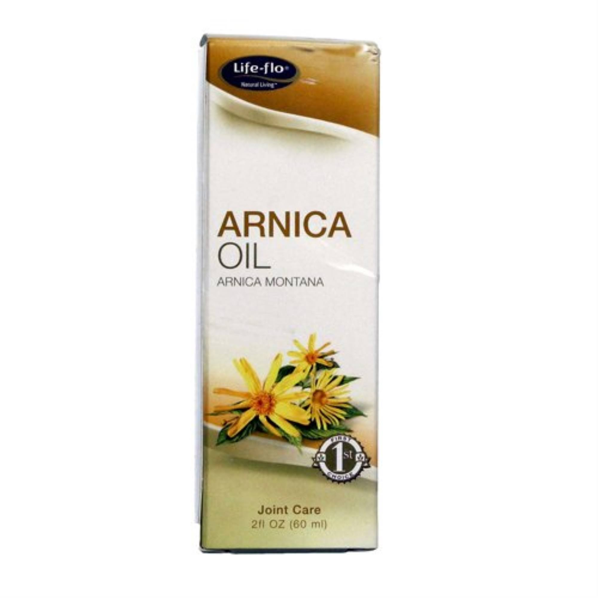 Life Flo Pure Oils Butters Arnica Oil - 60ml