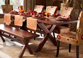 simple dining room decoration with pier 1 dining table solid wood
