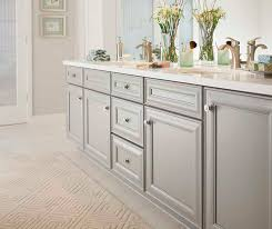 gray cabinet paint cloud on maple kemper cabinetry