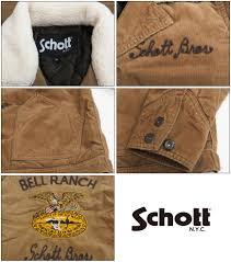 earth market rakuten global market shot schott corduroy jacket