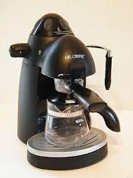Pump Espresso Machine Mr Coffee Steam Cappuccino Maker Cup On Revi