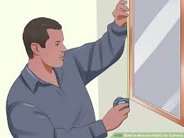 Material For Curtains Calculator by How To Measure Fabric For Curtains 11 Steps With Pictures