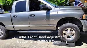 Dodge Diesel 48RE Transmission Front Band Adjustment Video - YouTube Dodge Truck Transmission Idenfication Glamorous 2000 Ram Fog Als Rapid Transit 727 Torqueflite 100 Trans Search Results Kar King Auto Buy 2007 Automatic Transmission 1500 4x4 Slt Quad Cab 57 Repair Best Image Kusaboshicom Tdy Sales 2015 3500 Flatbed Cummins Diesel Aisin Pickup Wikipedia Dakota Trucks Unique Resolved Aamco Plaint Mar 20 12 Shift Problem 5 Speed Manual Wiring Diagram Failure On The 48re Swap 67 4th Gen Tough Crew 1963 Power Wagon