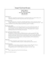 Resume Sample Bank Teller Template For Job Functional
