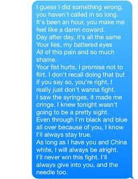 Letter To My Boyfriend Who Hurt Me