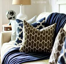 Brown Living Room Ideas by Fall Decor In Navy And Blue