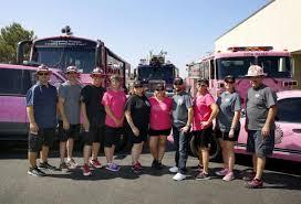 100 Pink Fire Trucks Campaign To Help Women Rolls Onto Fort Hood Health Kdhnewscom