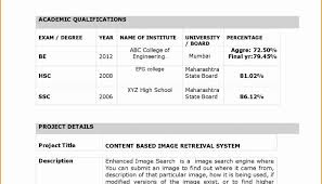 Resume Format For Fresher Teachers Doc With Sample Freshers