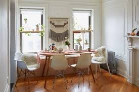 Despite The Different Silhouettes Of Chairs At This Dining Room Table White Palette