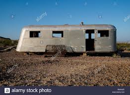 100 Classic Airstream Trailers For Sale An Old Abandoned And Wrecked Vintage Trailer With A