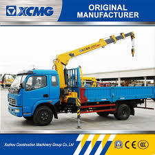 China XCMG Official Sq4sk3q 4 Ton Straight Arm Truck Mounted Crane ...