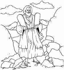 Phone Coloring Picture Collection Website Ten Commandments Pages