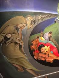 denver international airport murals pictures nwo mural the denver international airport look into what these