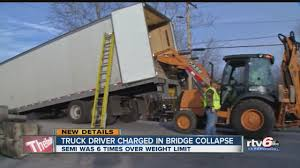 Truck Driver Charged In Bridge Collapse - YouTube Federal Bridge Gross Weight Formula Wikipedia Chapter 4 Design Vehicles Review Of Truck Characteristics As Limits Usa Trucks On The Road Google Zoeken M Pinterest Tesla Semi Already Gets Preorders From Walmart Interesting Facts About Trucks And Eightnwheelers Questions Answers Long Vda Average Dimeions Fuel Capacity The Wait Continues Results Dot Truck Sizeweight Study Revisited Inc Nasdaqtsla Seeking Alpha Tractor Trailer Axle Weights Distance How To Adjust Them Driver Charged In Bridge Collapse Youtube