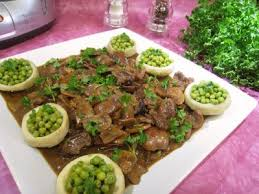 cuisiner les rognons de veau rognons de veau sautés aux cèpes et ses fonds d artichauts