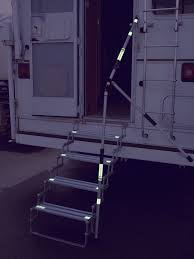 100 Truck Camper Steps A7621 Torklift Step Hand Rail Use With Any RV Or