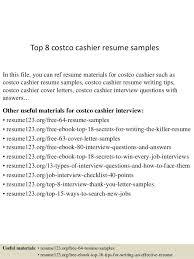 Cashier Resume Sample 15 Best Retail