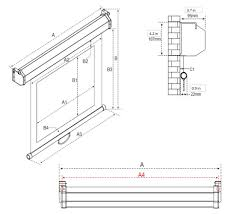 Ceiling Mount For Projector Screen by Manual B Series Manual Projection Screens Elite Screens
