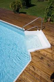 Above Ground Pool Ladder Deck Attachment by Pool Ladders Pool Steps Above Ground Pool Steps Decks And