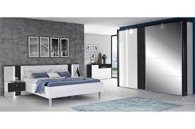 forte tallis schlafzimmer hochglanz weiß schwarzeiche