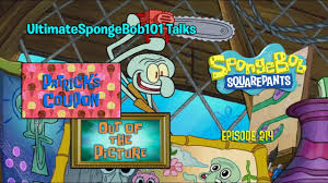 Spongebob Patrick's Coupon Transcript Michael's Pizza ...