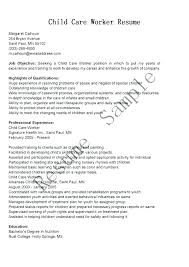 Babysitter Resume Sample Nanny On Resumes Examples How To Put