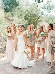 Effortlessly Chic Sparkling Neutral Wedding