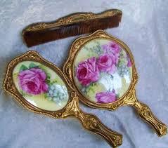 Vanity Mirror Dresser Set by 160 Best Dresser Jars U0026 Vanity Sets Images On Pinterest Vanity