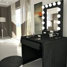 vanities broadway lighted vanity makeup mirror desk set makeup