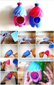 Plastic Bottle Crafts For Preschoolers Ideas Diy Plasti On Flower Kids