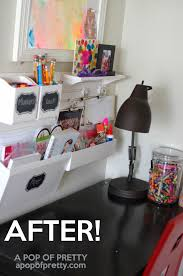 Childrens Lap Desk Canada by How To Organize A Small Art Station For Kids Martha Stewart Wall