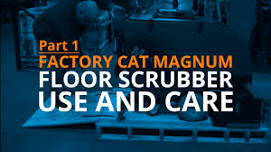 Riding Floor Scrubber Training by Industrial Floor Scrubber Washing Equipment Of Texas