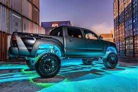 RGB Rock Lights - Color Changing Under Vehicle Lighting From LED ... Oracle 1416 Chevrolet Silverado Wpro Led Halo Rings Headlights Bulbs Costway 12v Kids Ride On Truck Car Suv Mp3 Rc Remote Led Lights For Bed 2018 Lizzys Faves Aci Offroad Best Value Off Road Light Jeep Lite 19992018 F150 Diode Dynamics Fog Fgled34h10 Custom Of Awesome Trucks All About Maxxima Unique Interior Home Idea Prove To Be Game Changer Vdot Snow Wset Lighting Cap World Underbody Green 4piece Kit Strips Under
