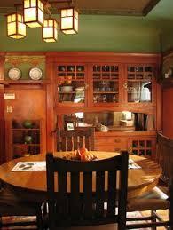 Look Up Mfg For Furniture Detailslike Built In As Craftsman Interior Dining RoomCraftsman