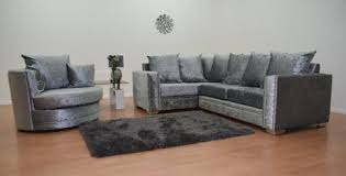 Swivel Cuddle Chairs Uk by Abbey Corner Sofa Swivel Cuddle Chair U2013 Glamour Homes Uk