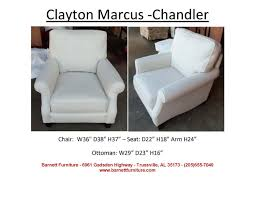 Clayton Marcus Sofa Bed by Barnett Furniture Chairs