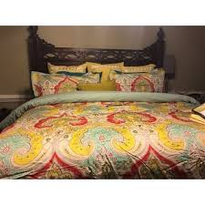 echo design jaipur multi cotton printed comforter set free